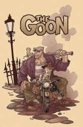 Albatross Exploding Funny Book's Goon Issue # 10b