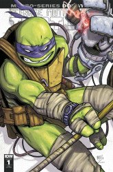 IDW Publishing's Teenage Mutant Ninja Turtles: Macro-Series - Donatello Issue # 1double midnight