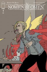 Image Comics's Nomen Omen Issue # 4c
