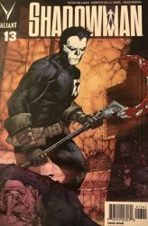 Valiant Entertainment's Shadowman Issue # 13ri