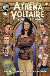 Action Lab Entertainment's Athena Voltaire and the Sorcerer Pope Issue # 4