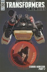 IDW Publishing's Transformers: Galaxies Issue # 11