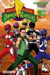 Papercutz's Mighty Morphin Power Rangers Hard Cover # 2