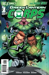 DC Comics's Green Lantern Corps Issue # 1