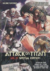 Kodansha Comics's Attack on Titan Soft Cover # 19b