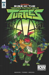 IDW Publishing's Rise of the Teenage Mutant Ninja Turtles Issue # 0idw