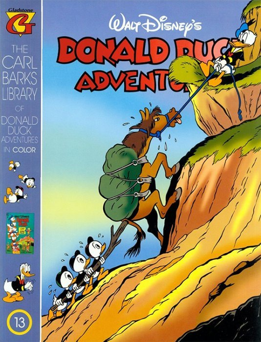 Gladstones Carl Barks Library Of Walt Disneys Donald Duck Adventures In Color Issue 13