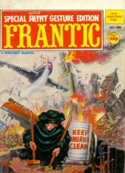 Marvel UK's Frantic Issue # 5