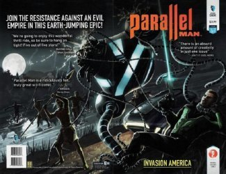 FutureDude Entertainment's Parallel Man Issue # 3