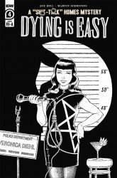 IDW Publishing's Dying is Easy Issue # 4ri-a