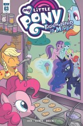 IDW Publishing's My Little Pony: Friendship is Magic Issue # 63ri