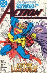 DC Comics's Action Comics Issue # 587
