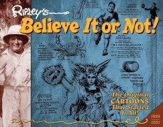 IDW Publishing's Ripley's Believe It or Not!: Original Classic Cartoons Hard Cover # 1