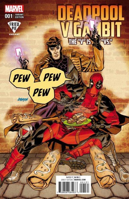 Deadpool vs. Gambit Comic | Euro Palace Casino Blog