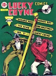 Super Comics's Lucky Coyne Comics Issue # 1