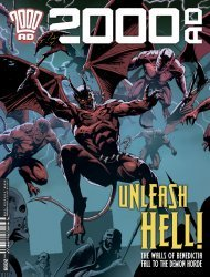 Rebellion's 2000 A.D. Issue # 2099