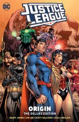DC Comics's Justice League: Origin - Deluxe Edition Hard Cover # 1