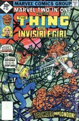 Marvel Comics's Marvel Two-In-One Issue # 32b