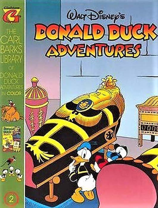 Gladstones Carl Barks Library Of Walt Disneys Donald Duck Adventures In Color Issue 2