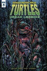 IDW Publishing's Teenage Mutant Ninja Turtles: Urban Legends Issue # 4c