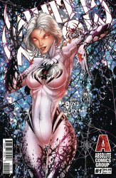 Red Giant Entertainment's White Widow Issue # 1-2nd print b