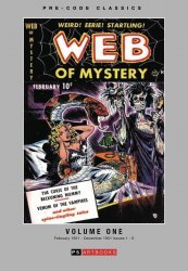 PS Artbooks's Pre-Code Classics: Web Of Mystery Hard Cover # 1