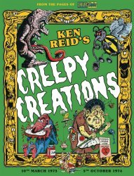 Rebellion's Creepy Creations Hard Cover # 1