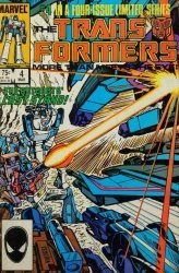 Marvel Comics's Transformers Issue # 4-2nd print