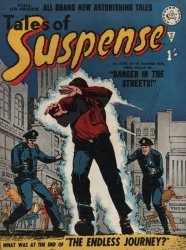 Alan Class & Company's Amazing Stories of Suspense Issue # 2