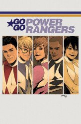 BOOM! Studios's Saban's Go Go Power Rangers Issue # 22c