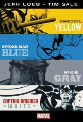 Marvel Comics's Jeph Loeb & Tim Sale: Yellow, Blue, Gray & White - Omnibus Hard Cover # 1