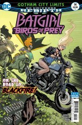 DC Comics's Batgirl and the Birds of Prey Issue # 14