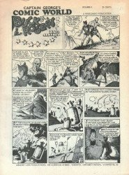 Memory Lane Publications's Captain George's Comic World Issue # 6