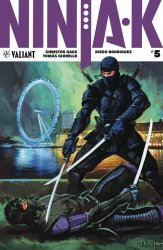 Valiant Entertainment's Ninja-K Issue # 5b