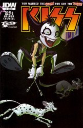 IDW Publishing's KISS Kids Issue # 3jetpack