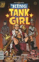 Albatross Exploding Funny Book's King Tank Girl Issue # 1