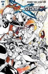 IDW Publishing's Street Fighter x G.I. Joe Issue # 4ri-b