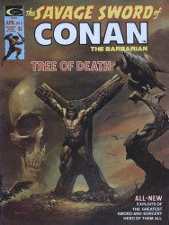 Curtis Comic Inc's The Savage Sword of Conan Issue # 5