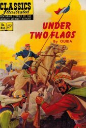 Gilberton Publications's Classics Illustrated #86: Under Two Flags Issue # 3
