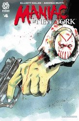 AfterShock Comics's Maniac of New York Issue # 4
