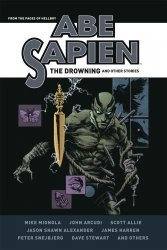 Dark Horse Comics's Abe Sapien: The Drowning and Other Stories Hard Cover # 1