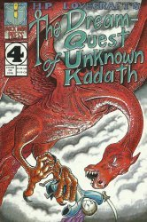 Mock Man Press's HP Lovecraft's: The Dream-Quest of Unknown Kadath Issue # 4