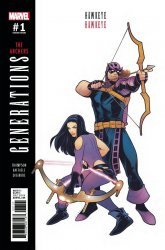 Marvel Comics's Generations: Hawkeye & Hawkeye Issue # 1b