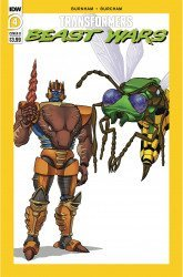 IDW Publishing's Transformers: Beast Wars Issue # 4b