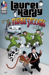 American Mythology's Laurel And Hardy Meet The Three Stooges Issue # 1