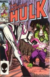 Marvel Comics's The Incredible Hulk Issue # 296