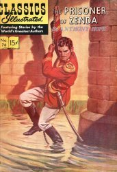 Gilberton Publications's Classics Illustrated #76: The Prisoner of Zenda Issue # 7