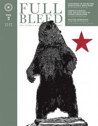 IDW Publishing's Full Bleed: The Comics & Culture Quarterly Hard Cover # 2