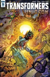 IDW Publishing's Transformers: Unicron Issue # 5ri