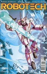 Titan Comics's Robotech Issue # 5d